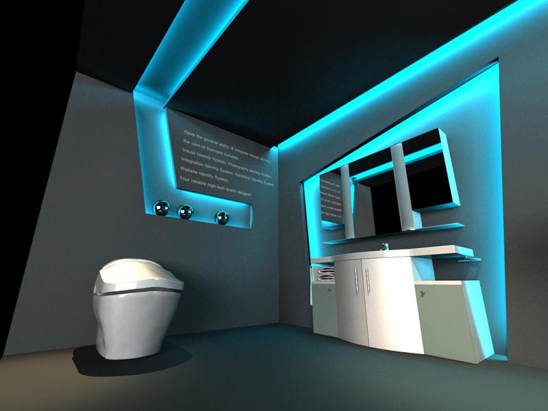 智能卫浴展厅设计